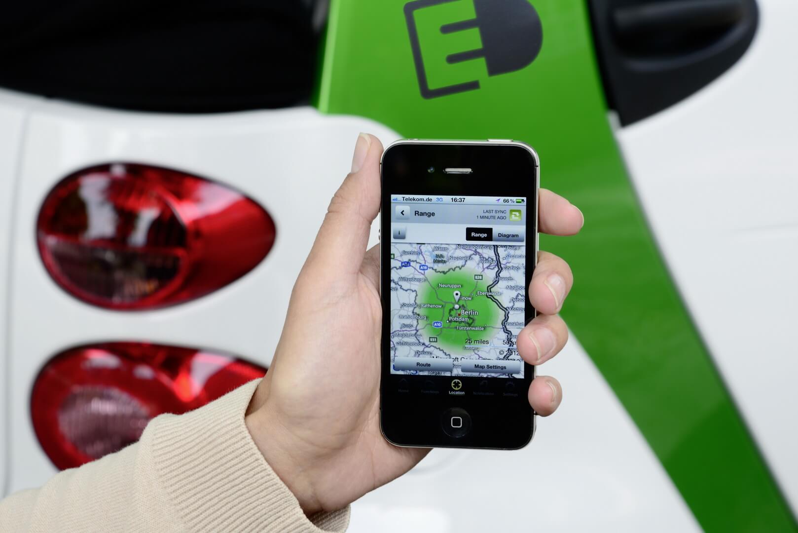 Фотография экоавто Smart Fortwo Electric Drive 2012 - фото 20