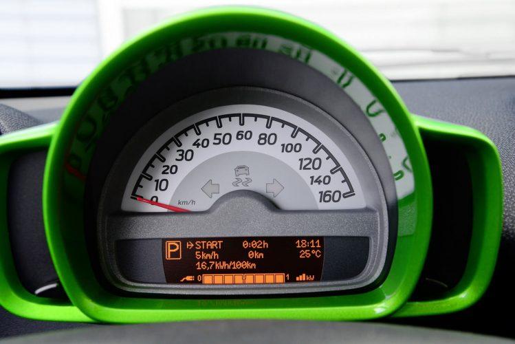 Спидометр Smart Fortwo Electric Drive