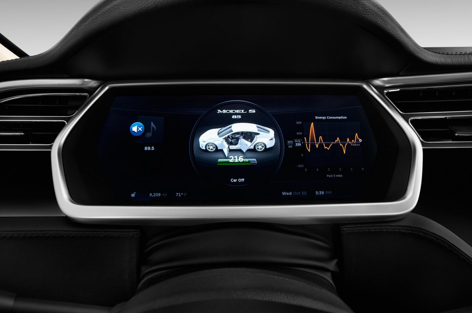 Фотография экоавто Tesla Model S P85D - фото 23