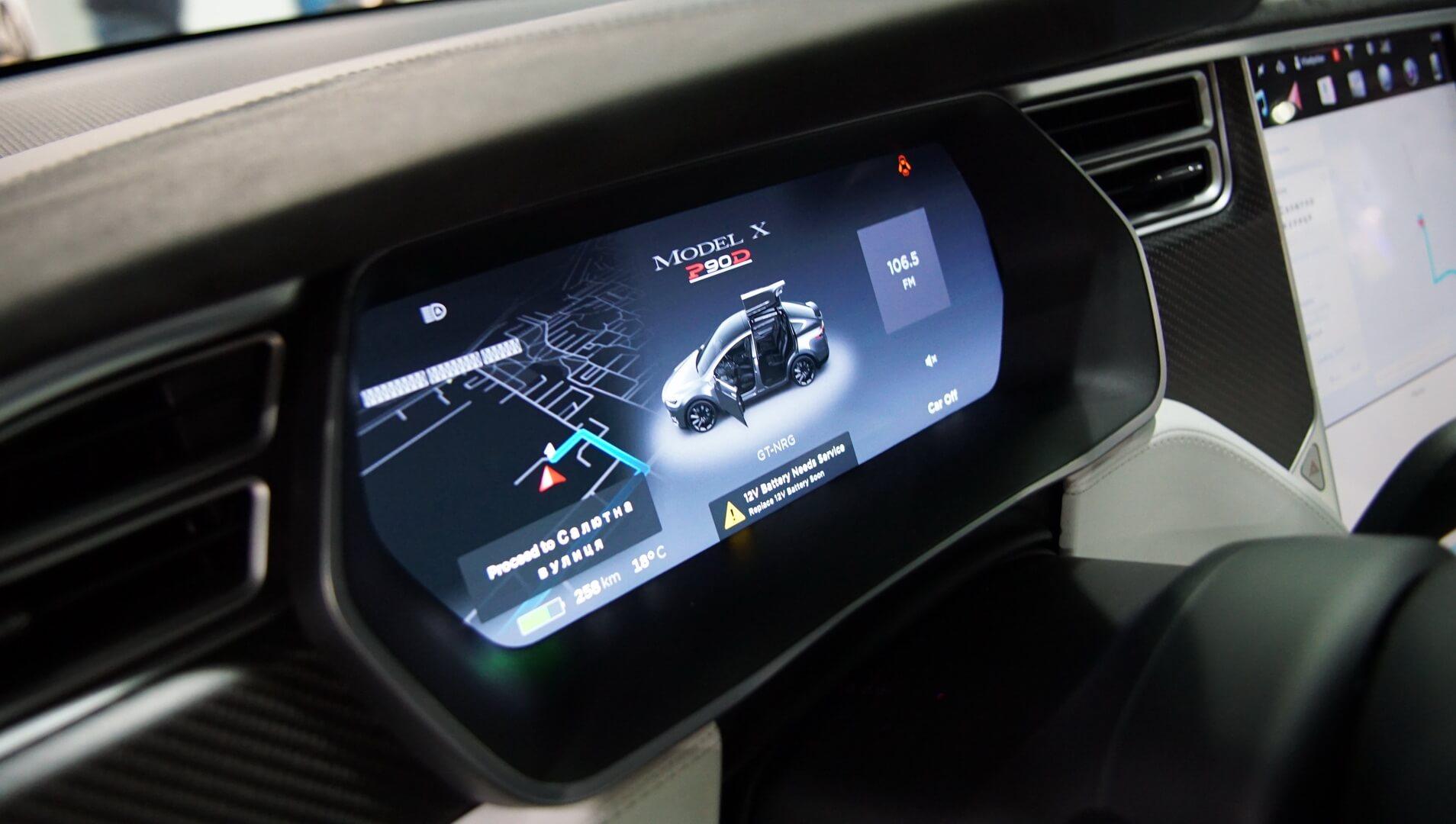 Фотография экоавто Tesla Model X P90D - фото 23