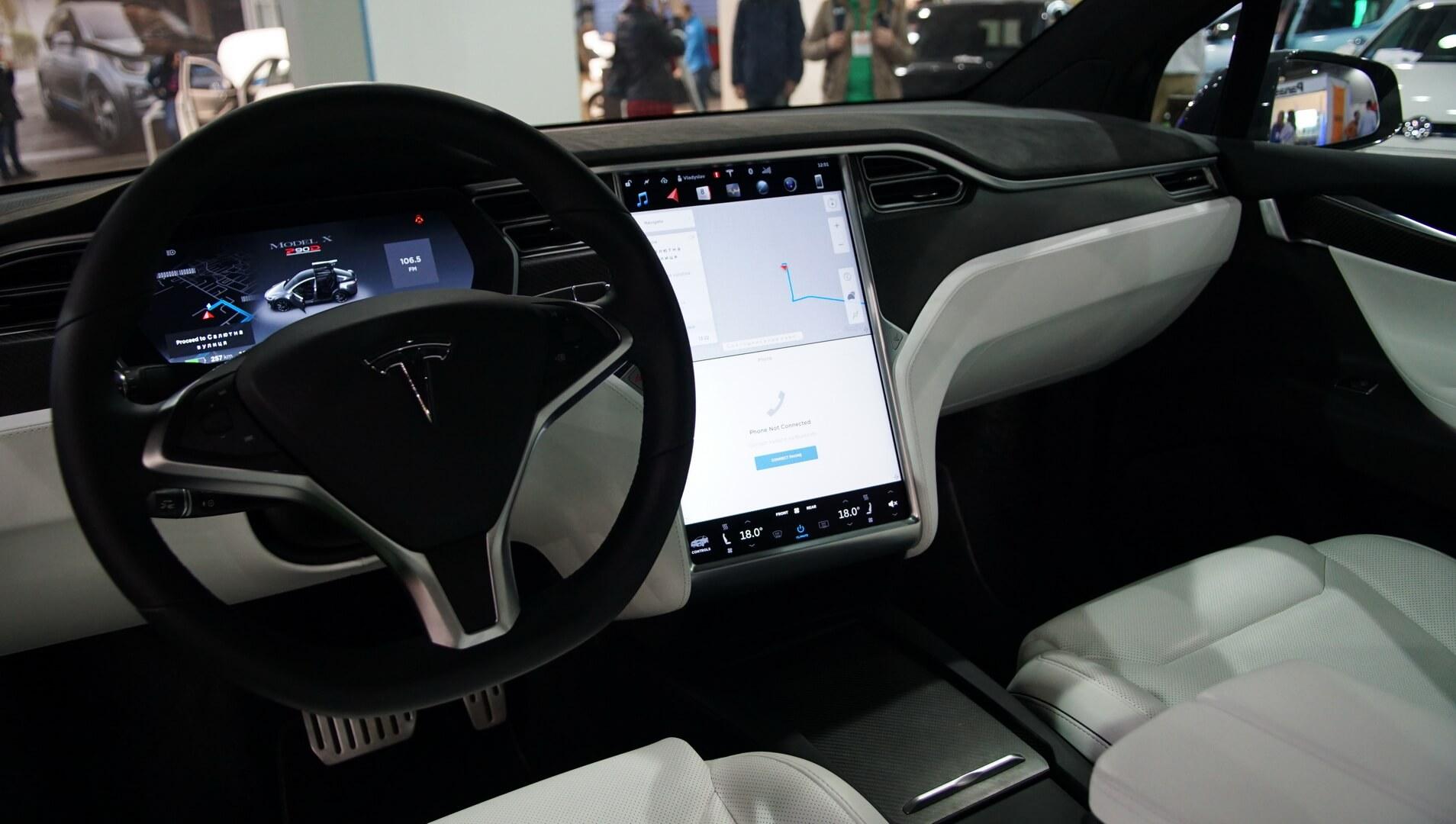 Фотография экоавто Tesla Model X 60D - фото 25