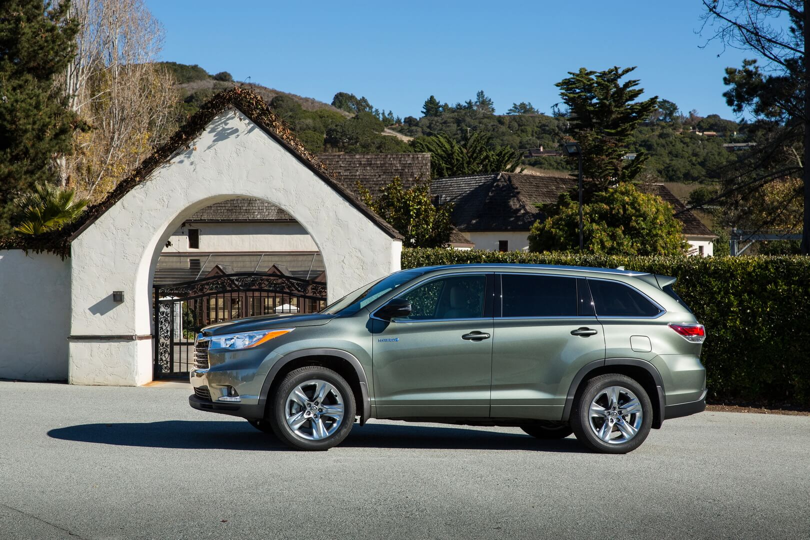 Фотография экоавто Toyota Highlander Hybrid 2014 - фото 6