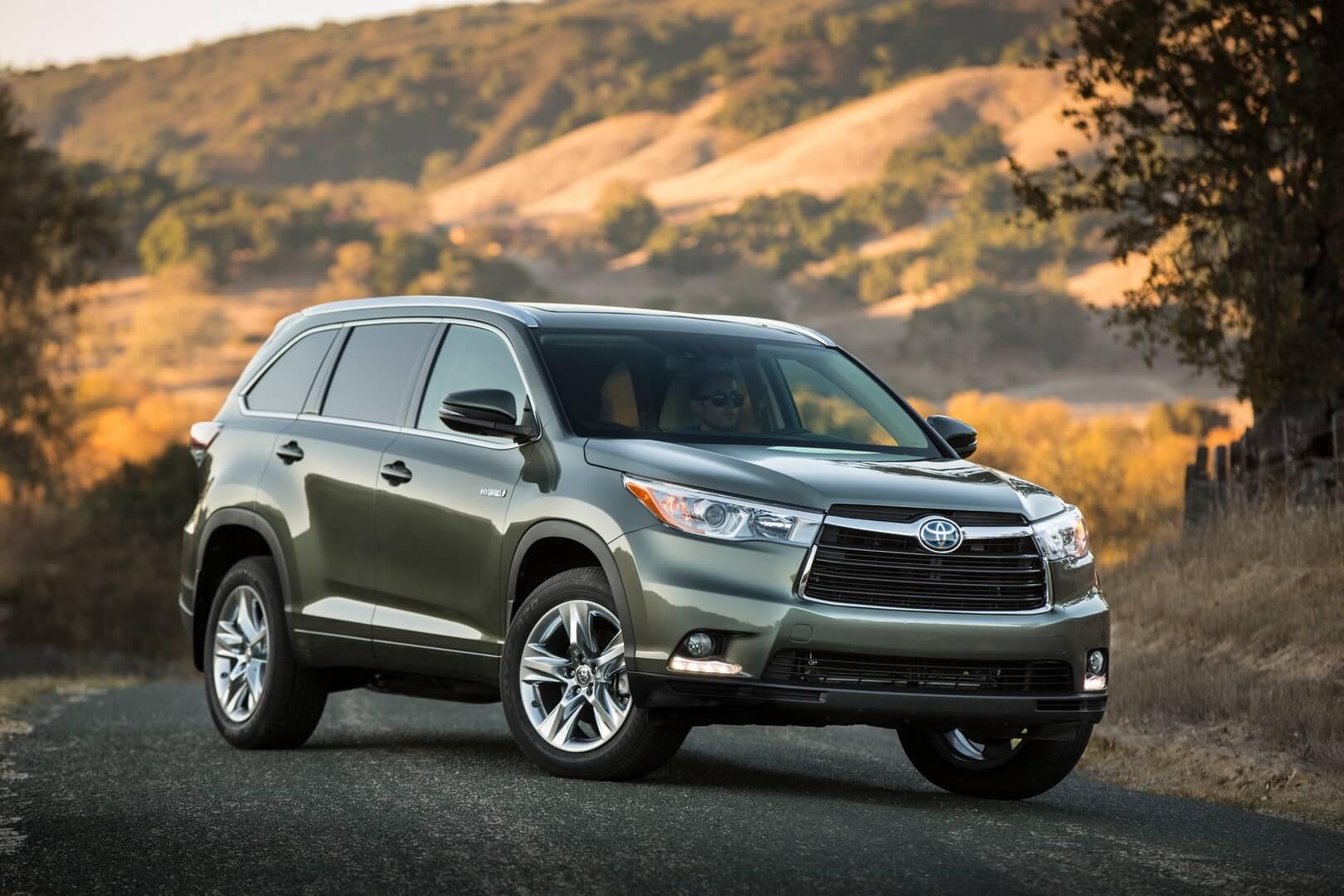 Фотография экоавто Toyota Highlander Hybrid 2014 - фото 10