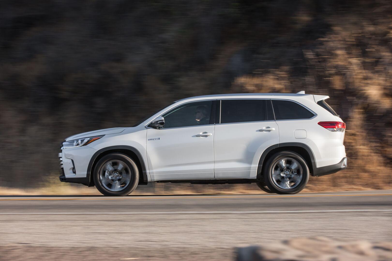 Фотография экоавто Toyota Highlander Hybrid 2017 - фото 8