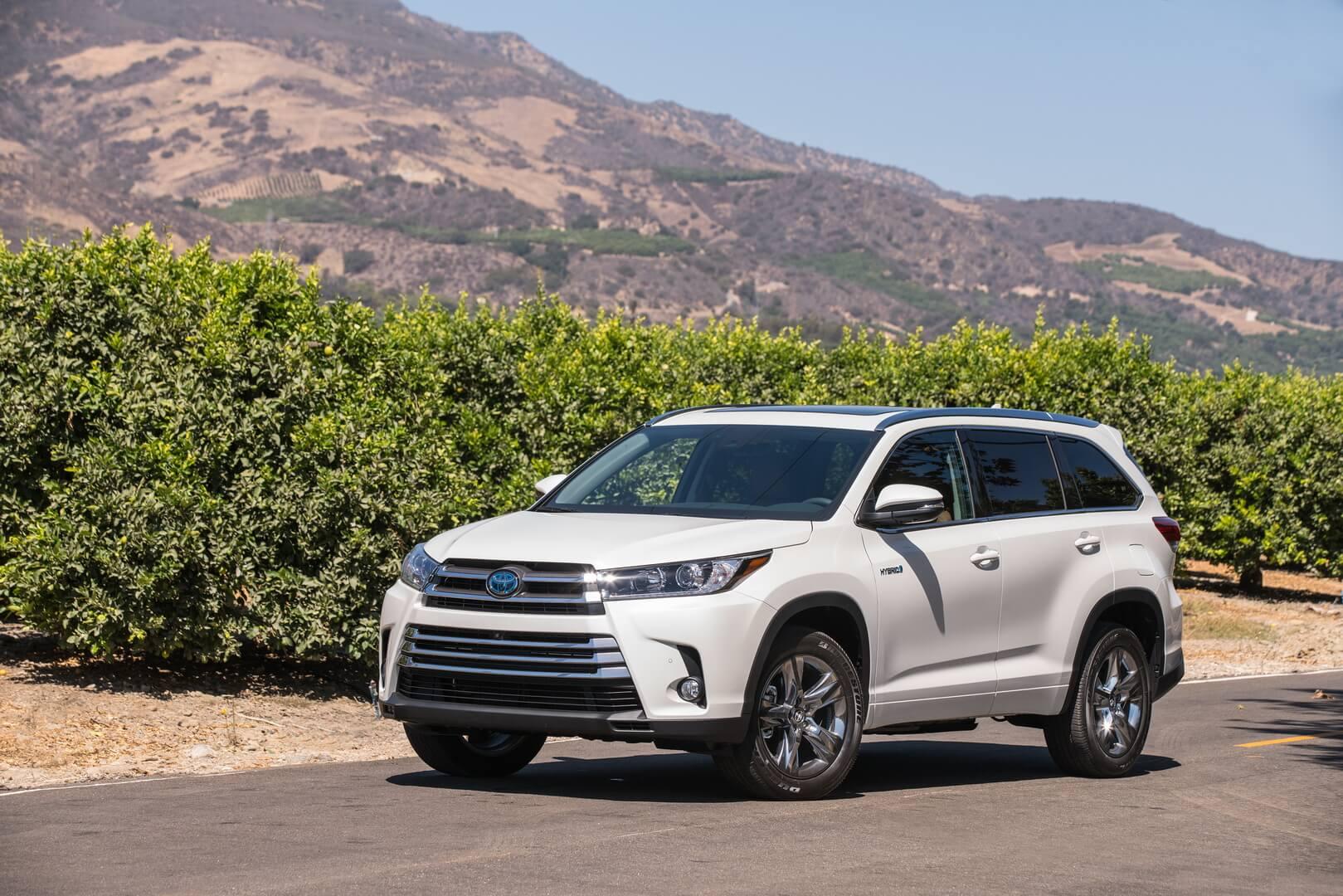 Фотография экоавто Toyota Highlander Hybrid 2017 - фото 11
