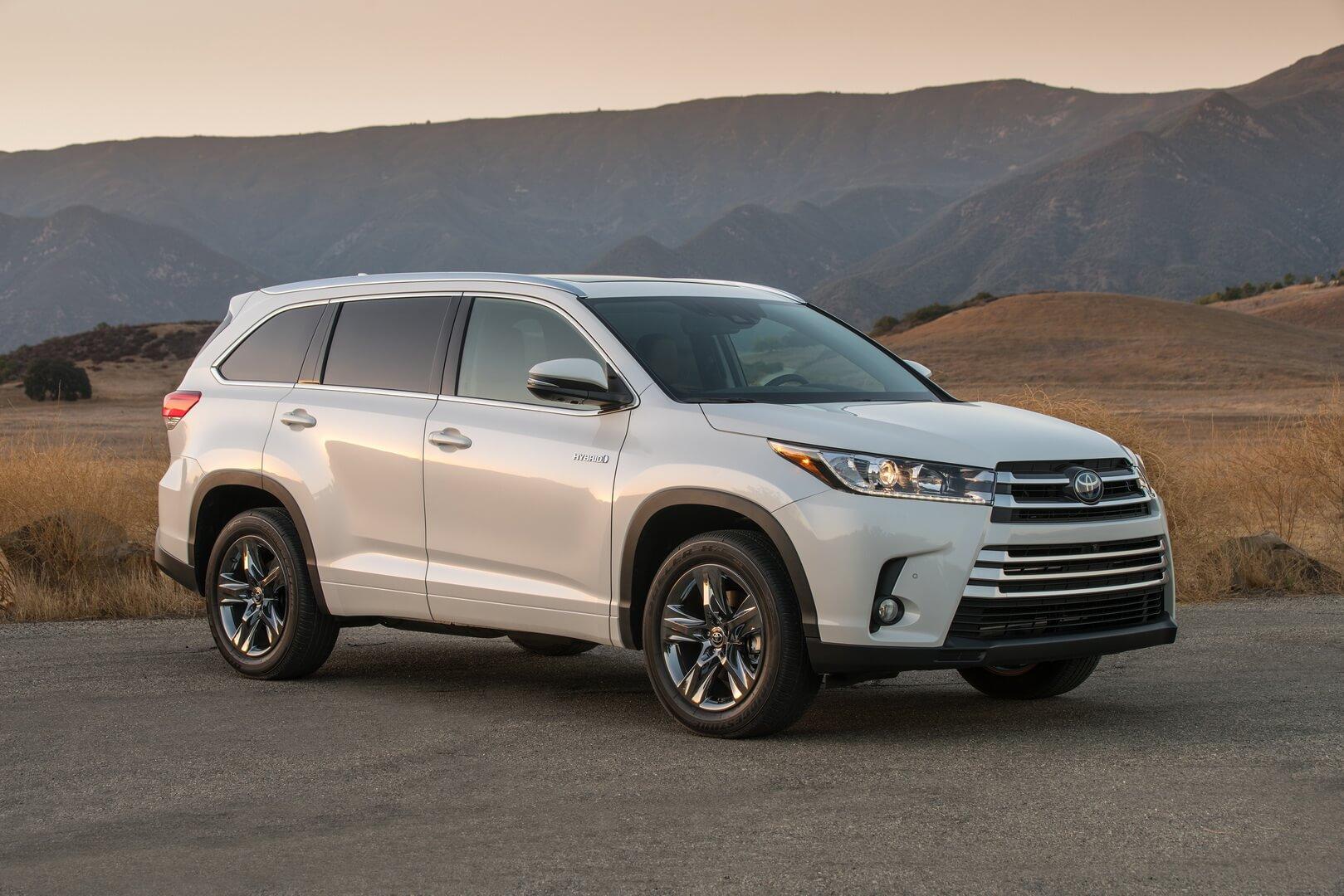 Фотография экоавто Toyota Highlander Hybrid 2017 - фото 13