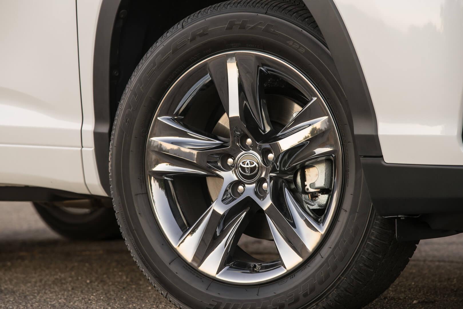 Колеса Toyota Highlander
