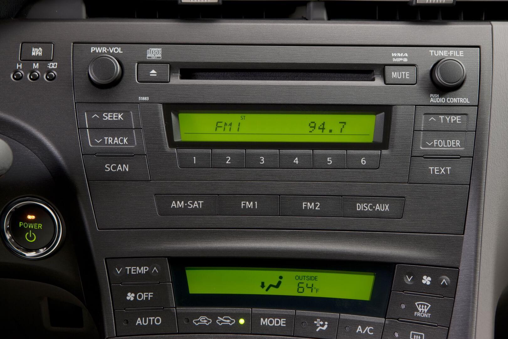 Фотография экоавто Toyota Prius Hybrid 2010 - фото 55
