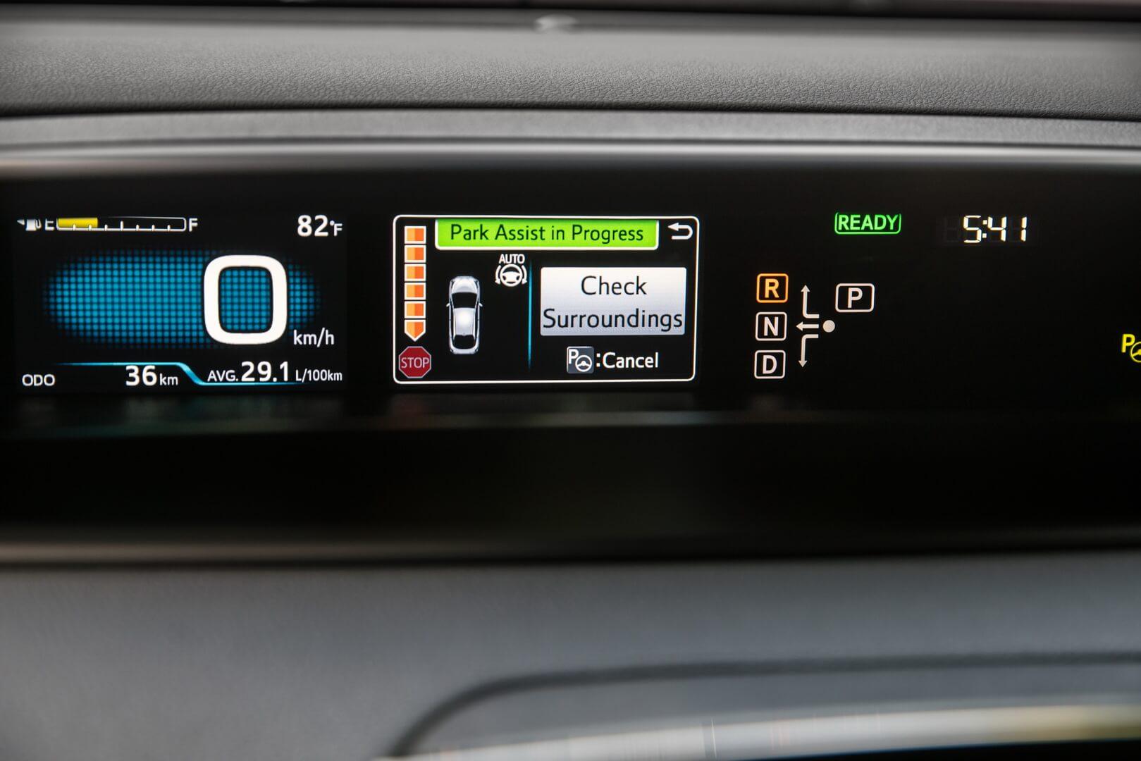 Фотография экоавто Toyota Prius Hybrid 2016 - фото 40