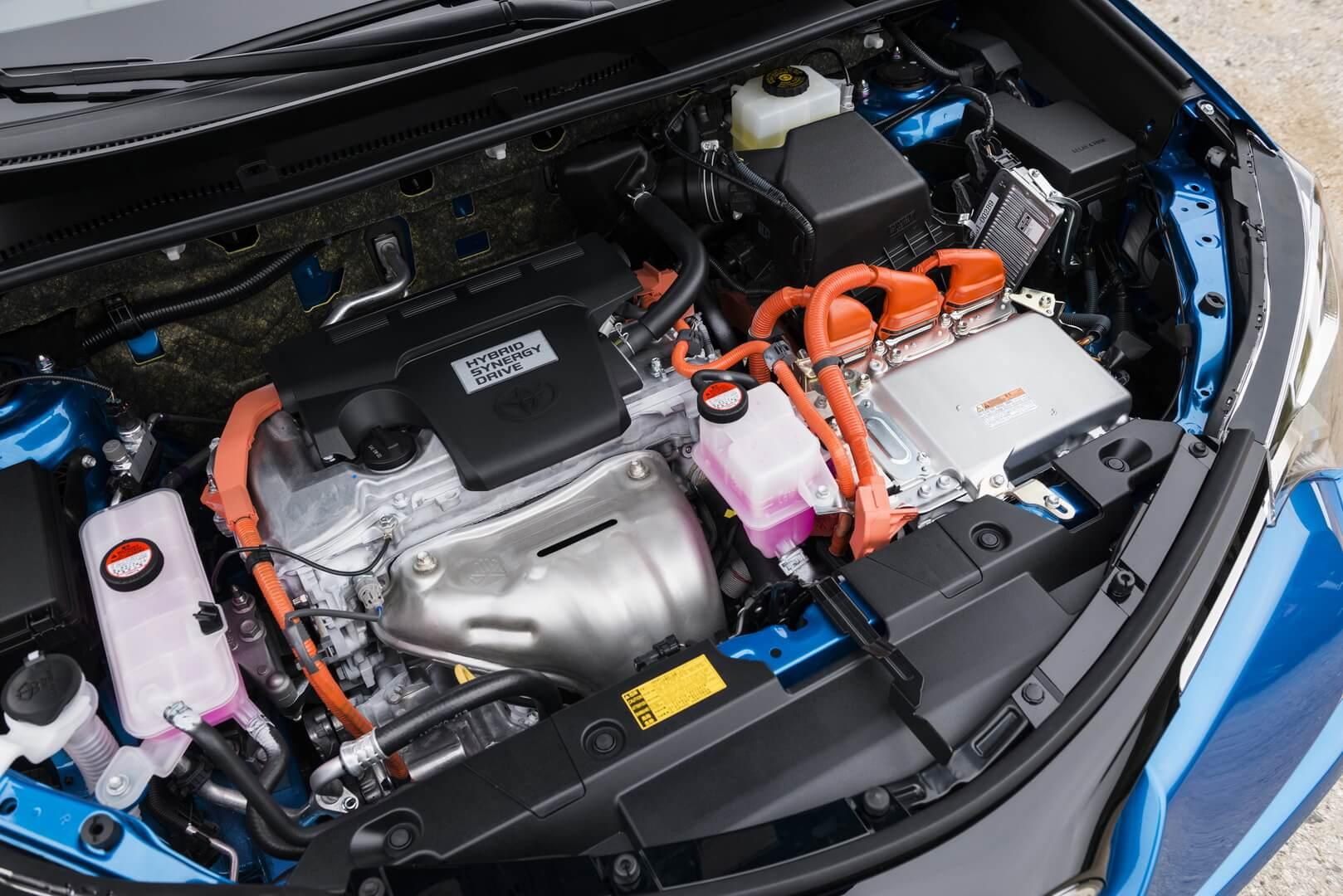 Силовая установка Toyota RAV4 Hybrid