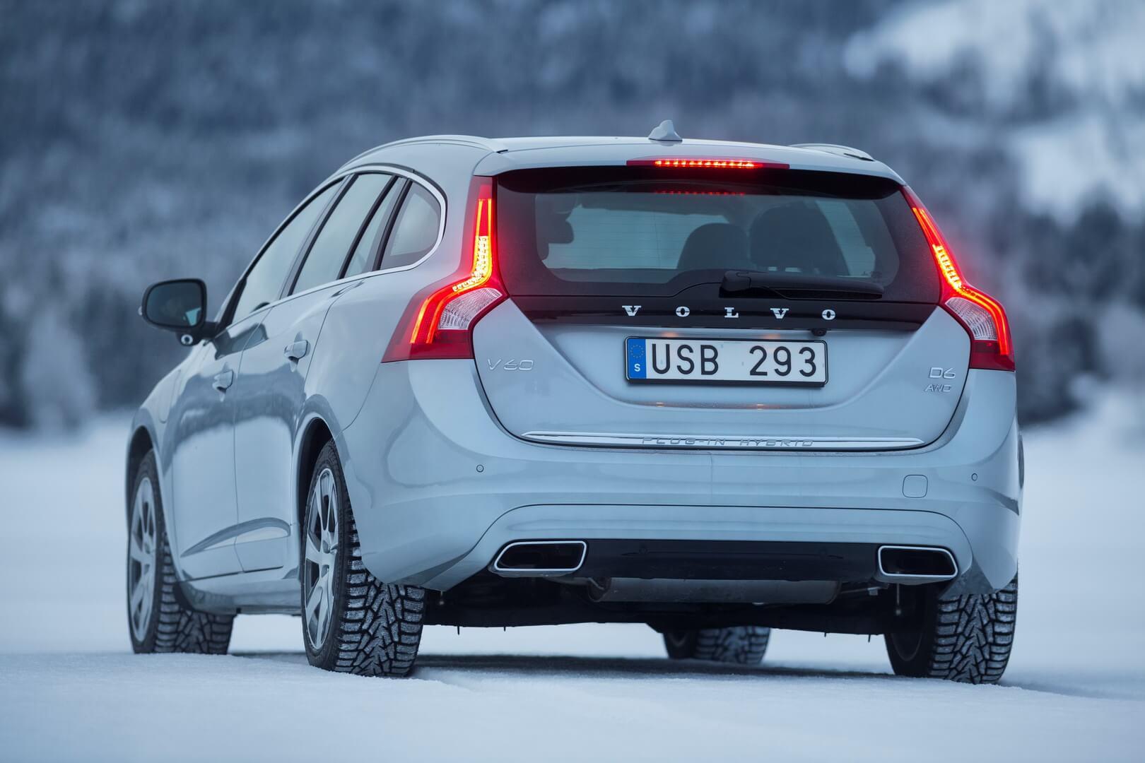 Фотография экоавто Volvo V60 PHEV - фото 22