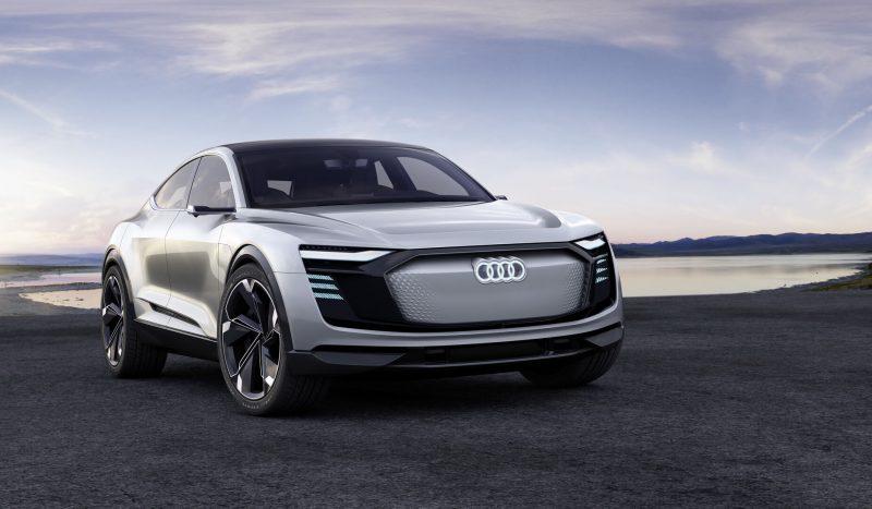 Вид Audi e-tron Sportback