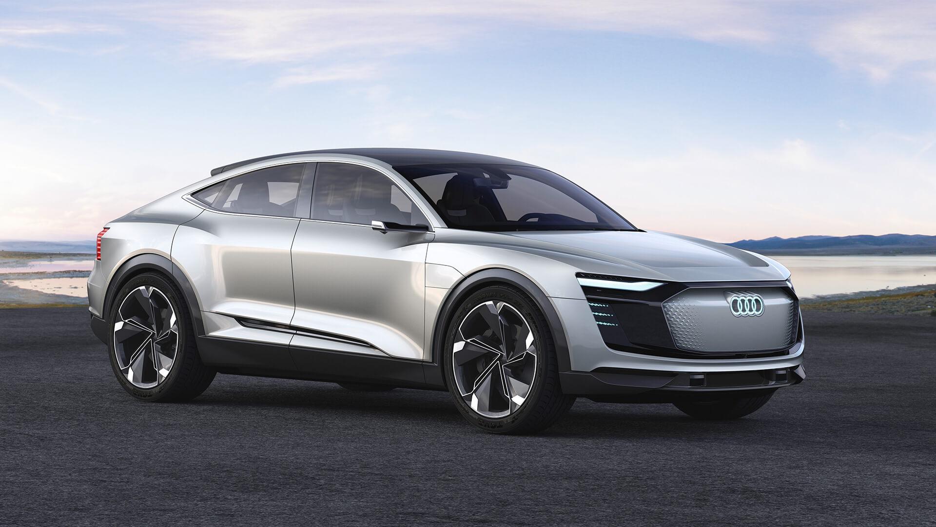 Концепция Audi e-tron Sportback