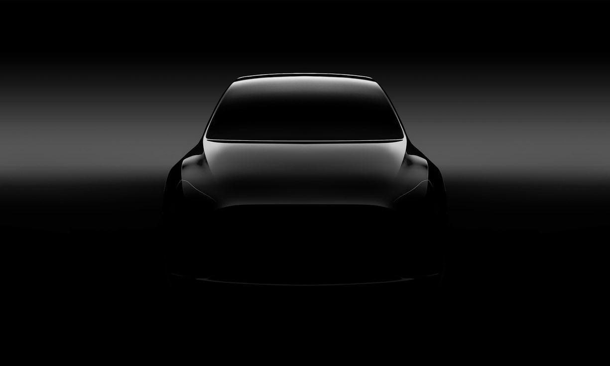 Первый официальный тизер Tesla Model Y