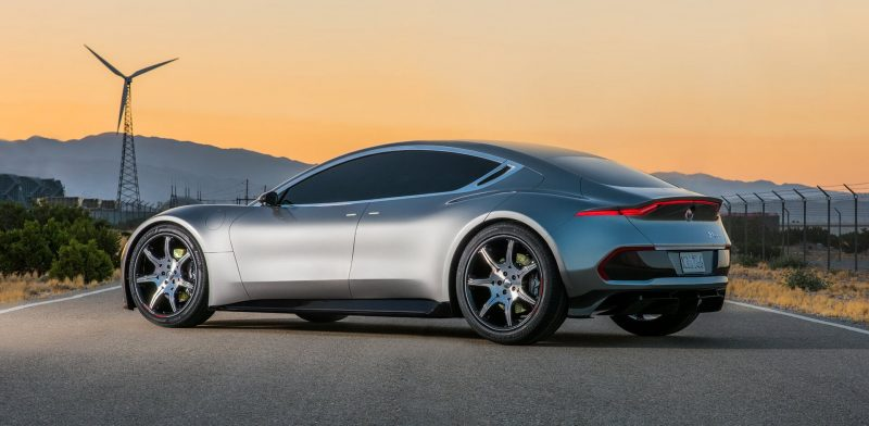 Официальное изображение электрокара Fisker EMotion