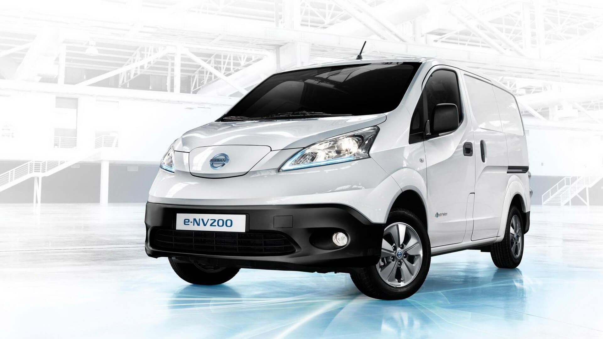 Электрофургон Nissan e-NV200
