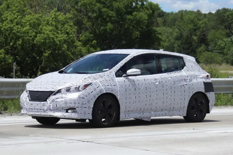 Экстерьер Nissan Leaf 2018