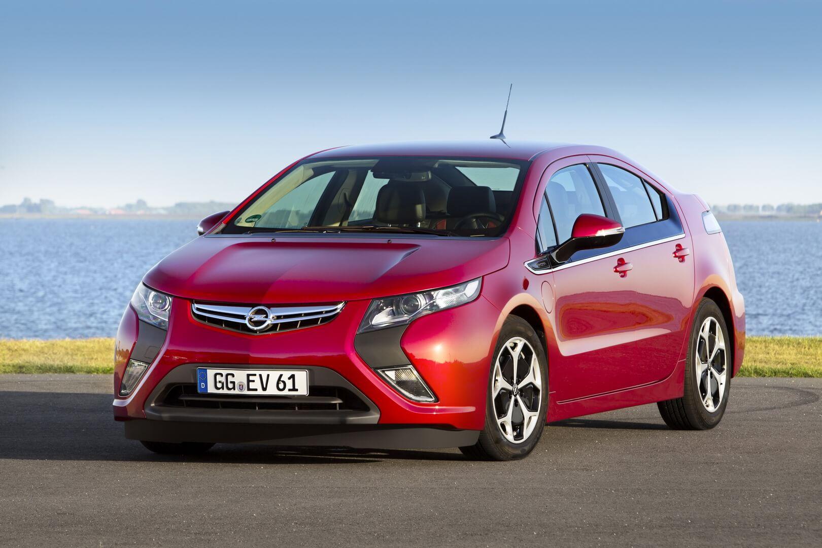 Фотография экоавто Opel Ampera Range Extender