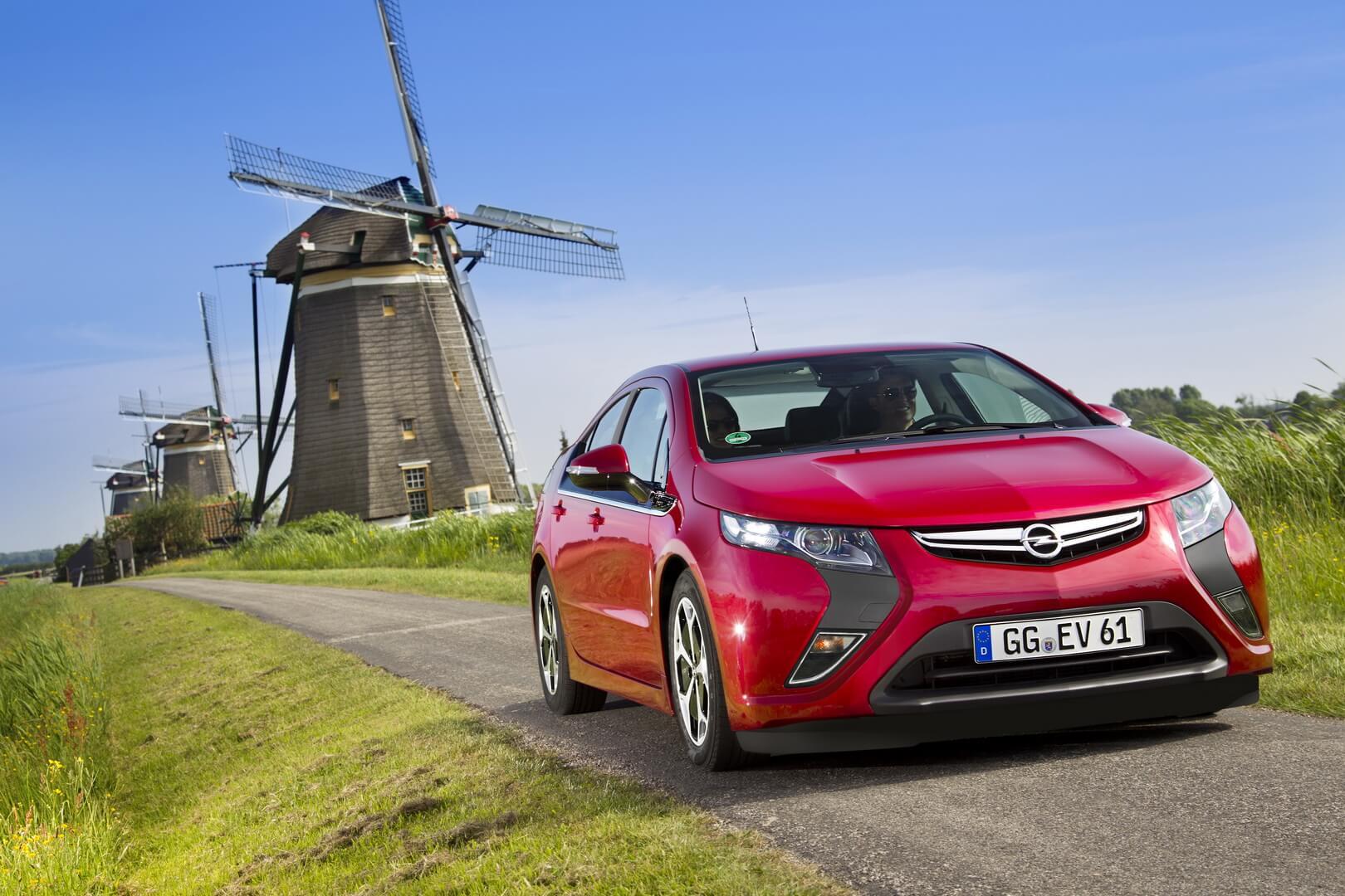 Фотография экоавто Opel Ampera Range Extender - фото 2