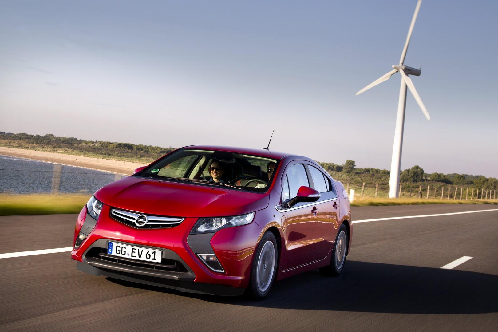 Фотография экоавто Opel Ampera Range Extender - фото 3