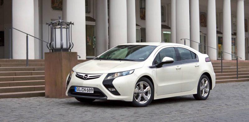 Экстерьер Opel Ampera Rex