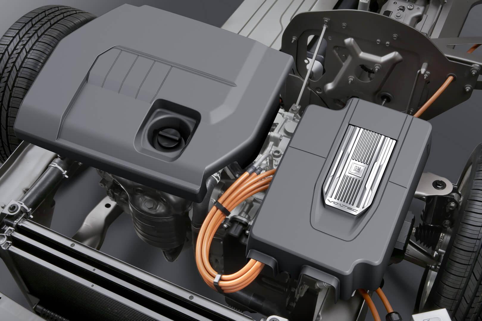 Фотография экоавто Opel Ampera Range Extender - фото 29