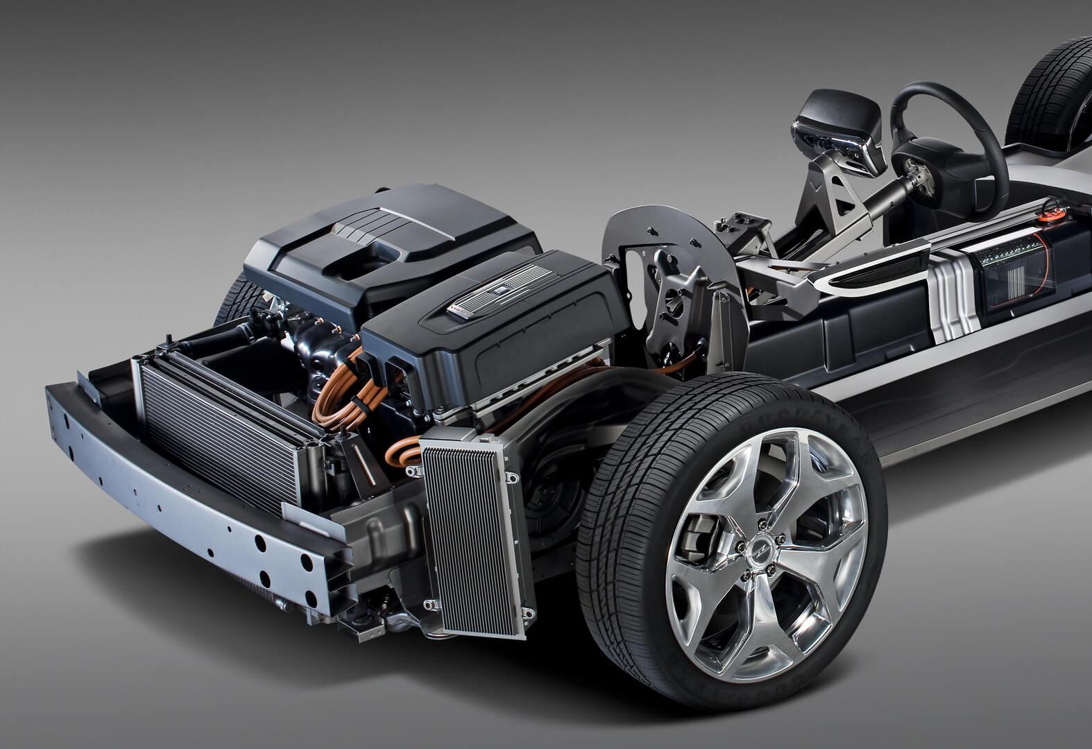 Фотография экоавто Opel Ampera Range Extender - фото 30