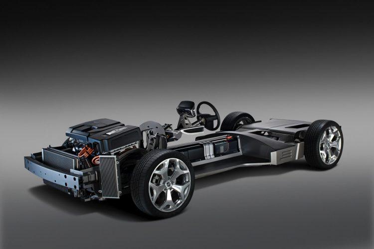 Шасси с гибридной установкой Opel Ampera Rex