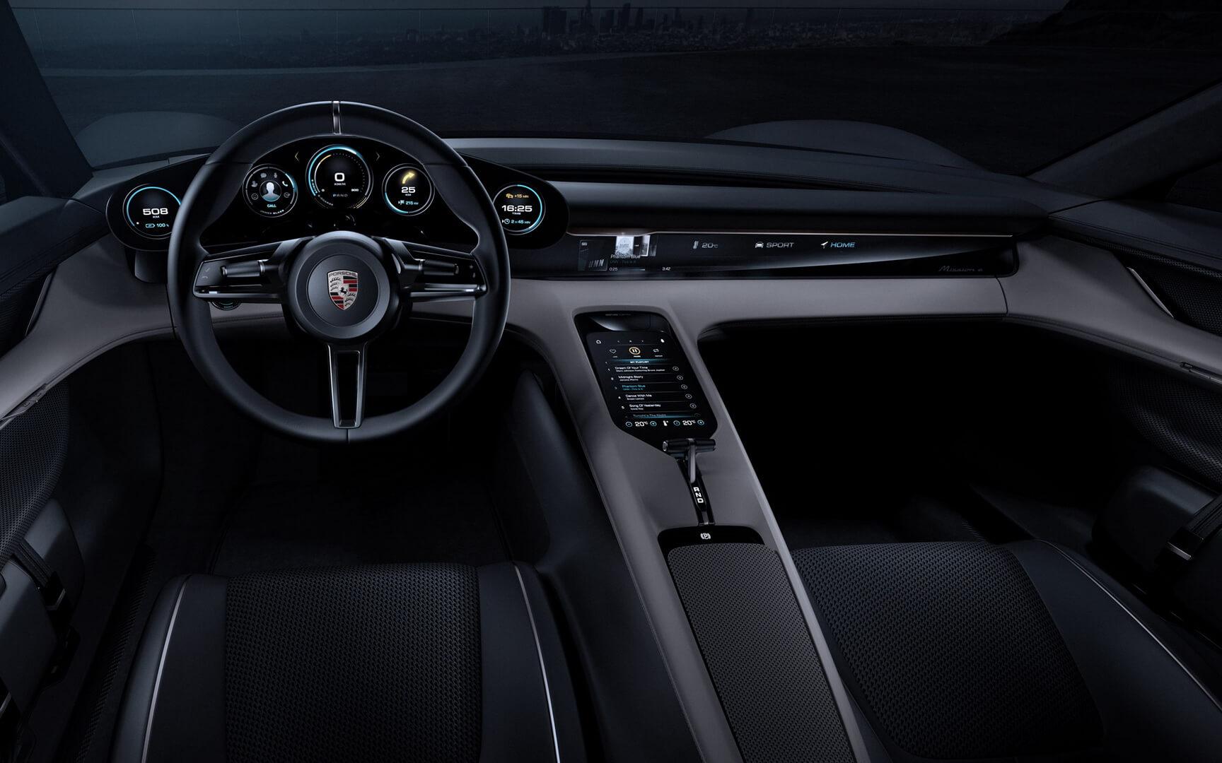 Фотография экоавто Porsche Taycan - фото 9