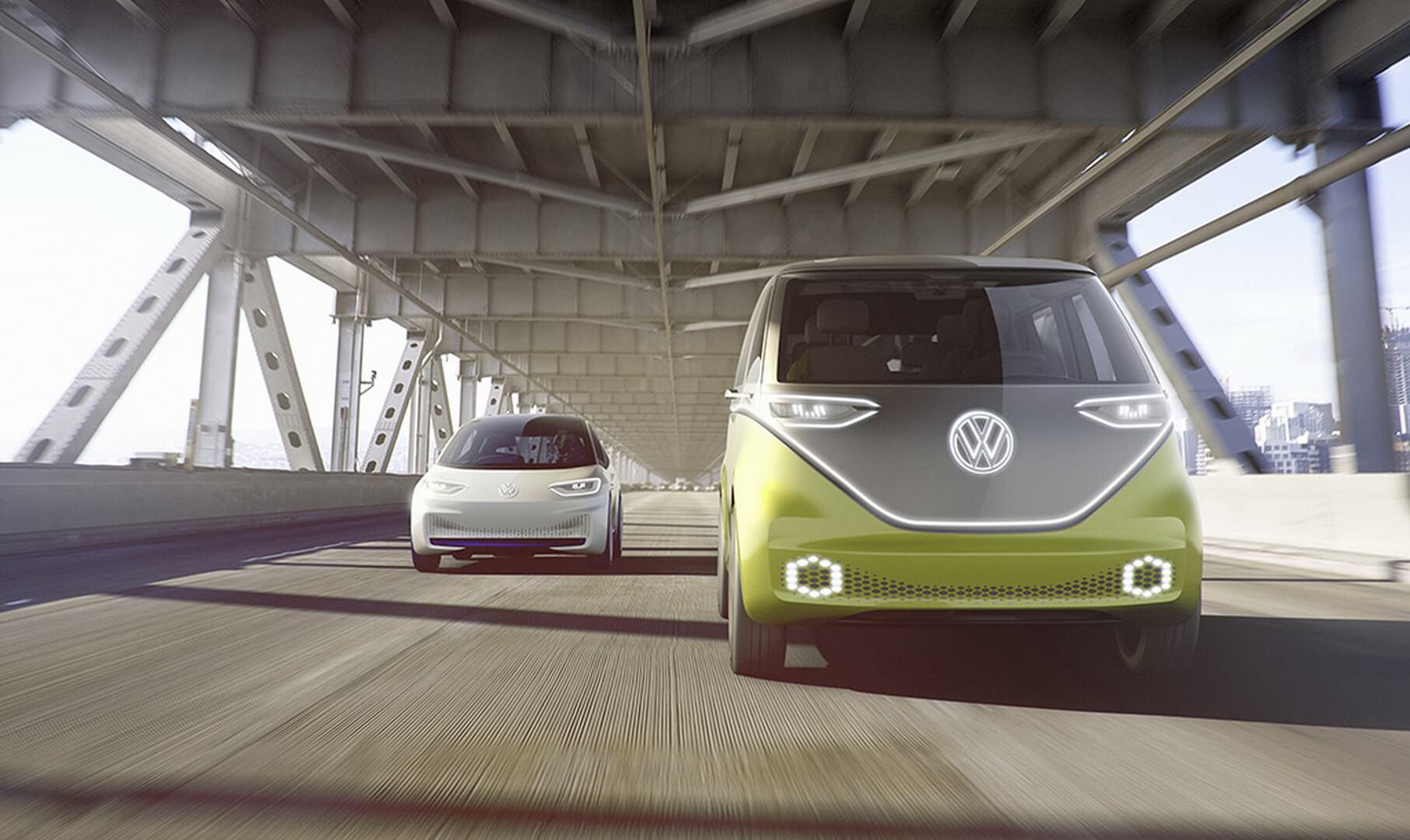 Фотография экоавто Volkswagen I.D. BUZZ