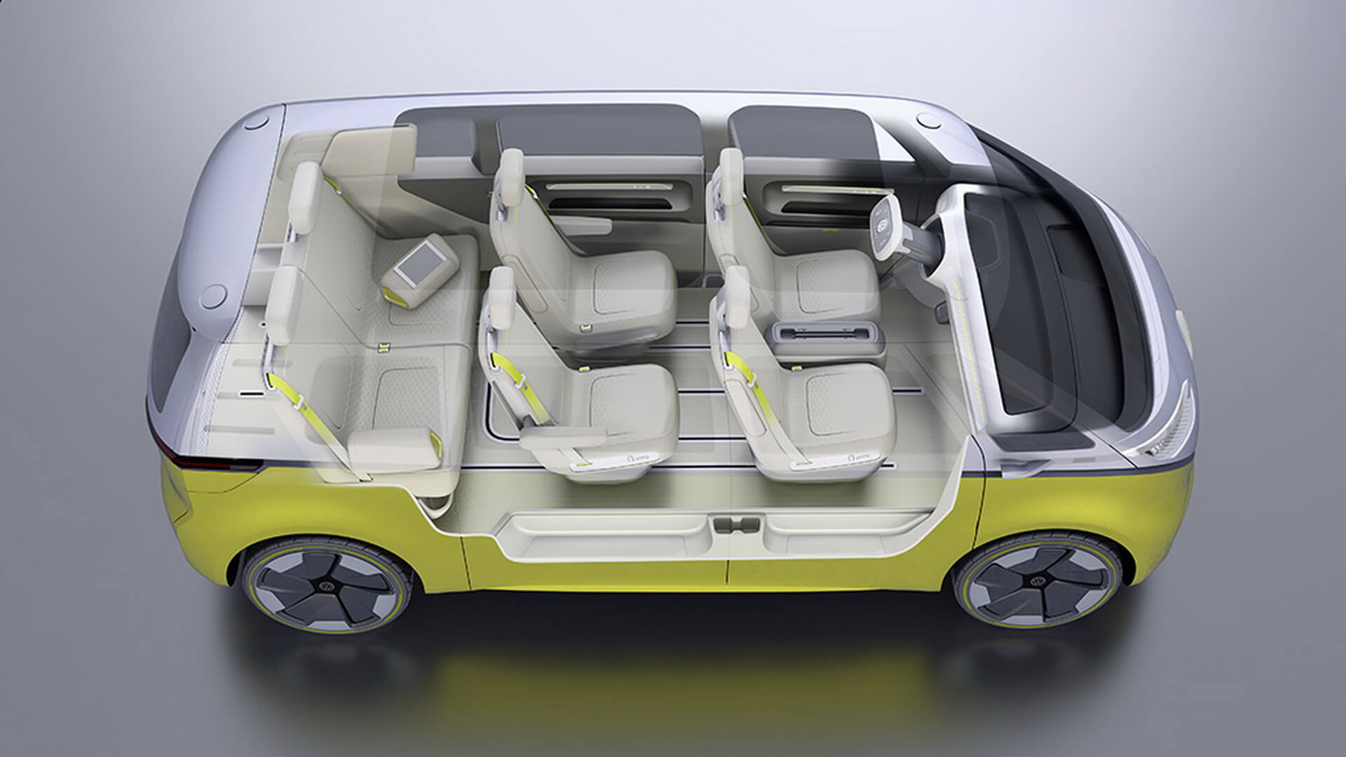 Фотография экоавто Volkswagen I.D. BUZZ - фото 35