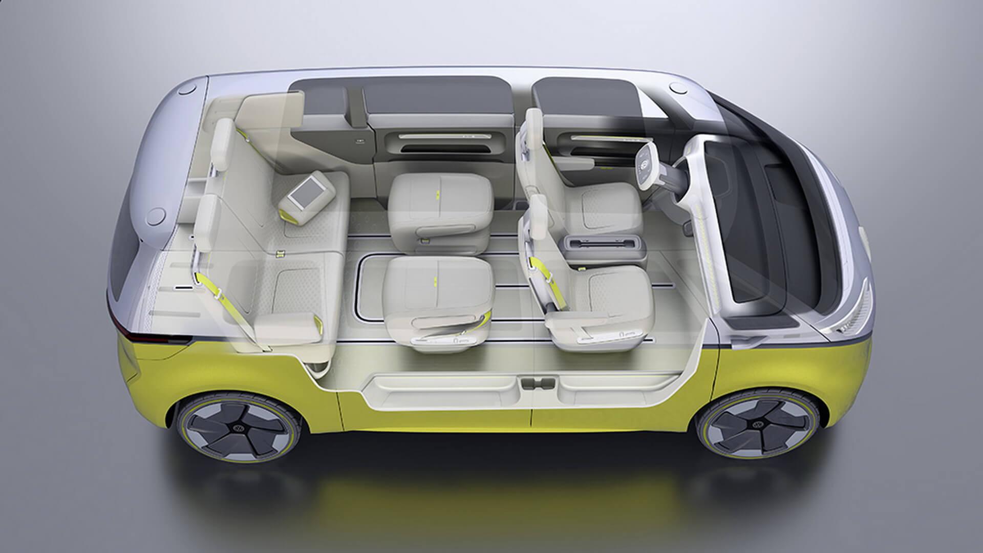 Фотография экоавто Volkswagen I.D. BUZZ - фото 36