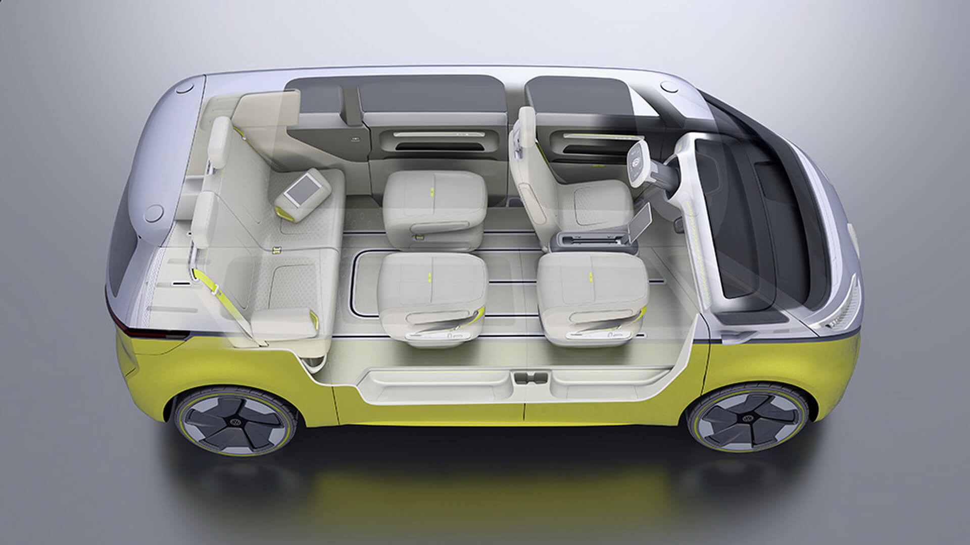 Фотография экоавто Volkswagen I.D. BUZZ - фото 38