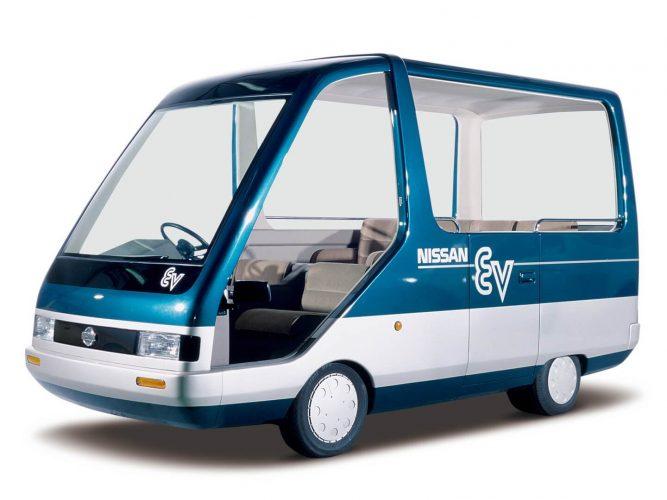 Электрокар Nissan EVGuide-II