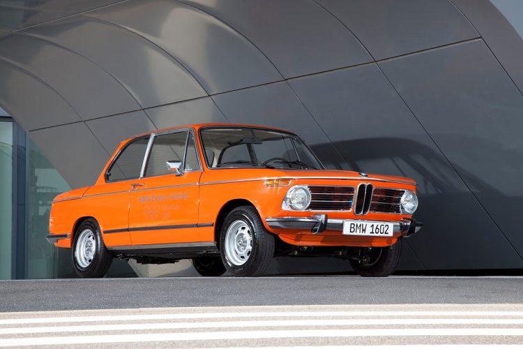 Первый электромобиль BMW 1602