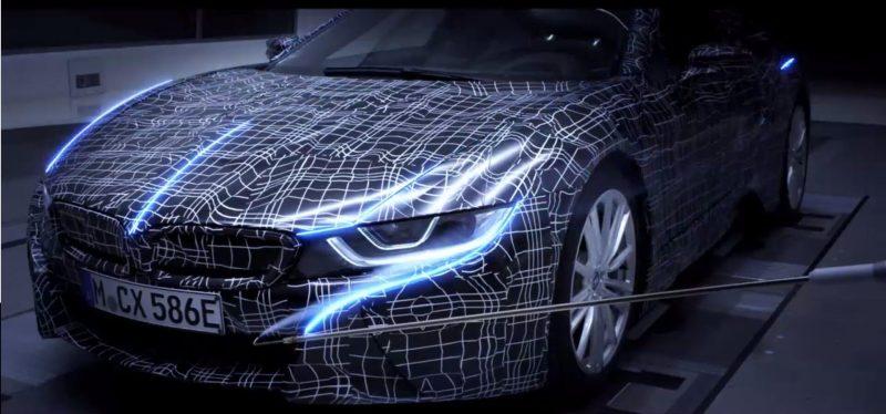 Плагин-гибридный спорткар BMW i8 Roadster — фото 2