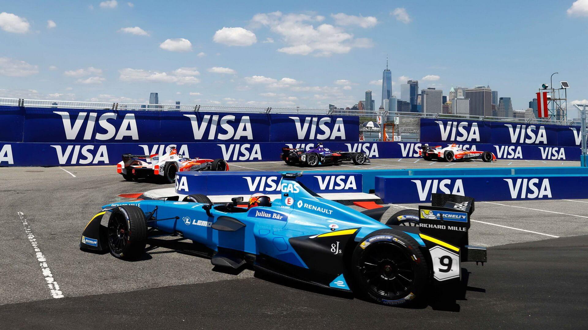 Гонка на электромобилях Formula E, Нью-Йорк — фото 2