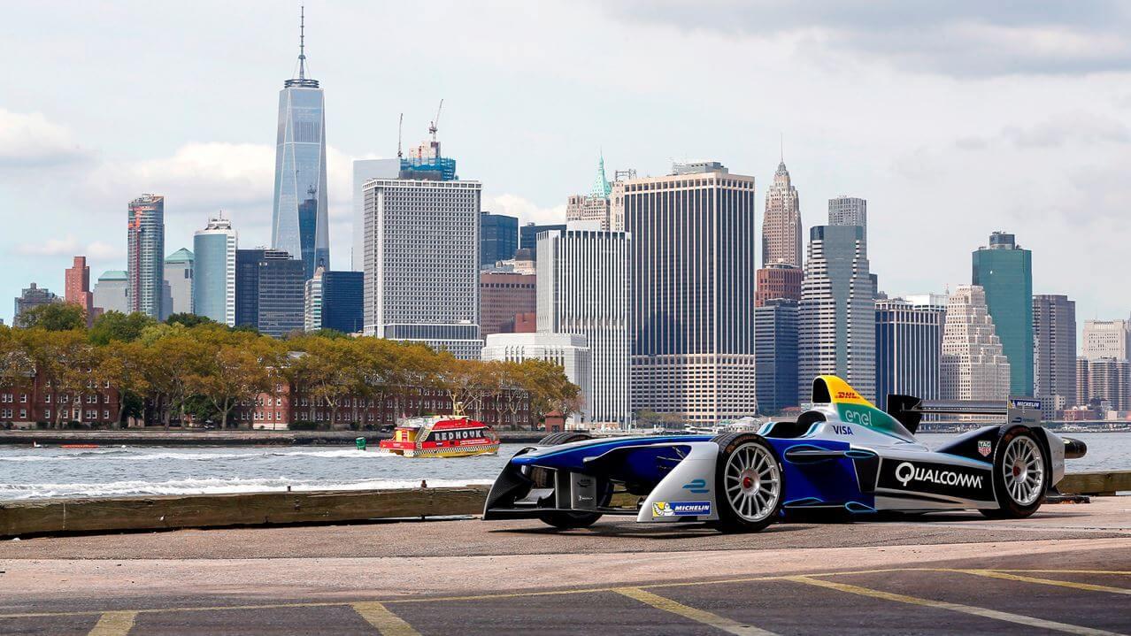 Гонка на электромобилях Formula E, Нью-Йорк