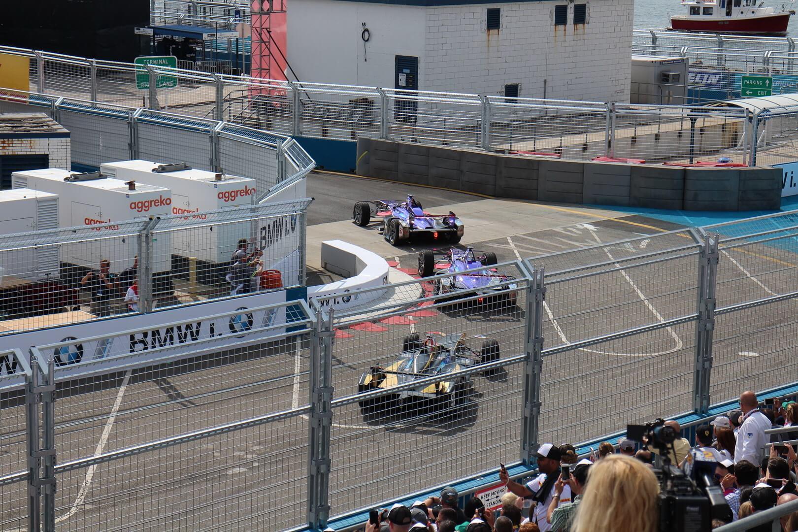 Нью-Йоркская гонка на электромобилях Formula E, Бруклин, июль 2017 года