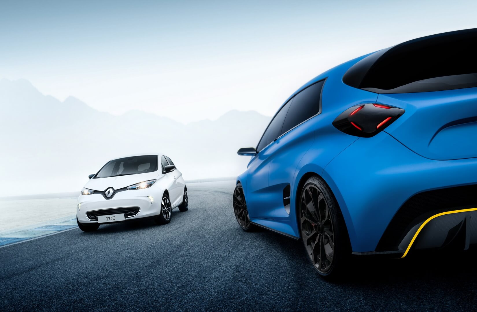 Renault ZOE e-Sport Concept & Renault ZOE