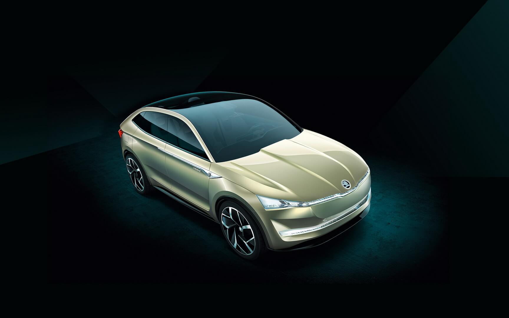 Европейский концепт электромобиля Vision E