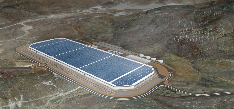 Завод Tesla Gigafactory