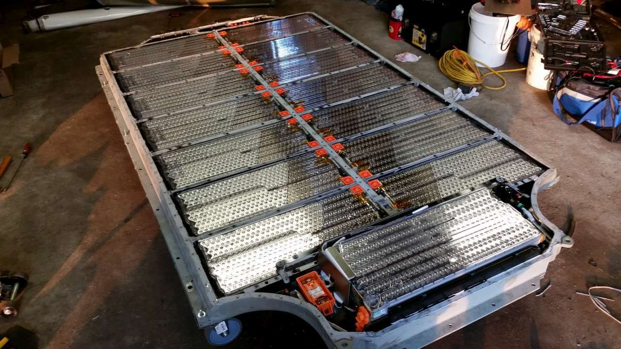 Батарейный блок Tesla Model S