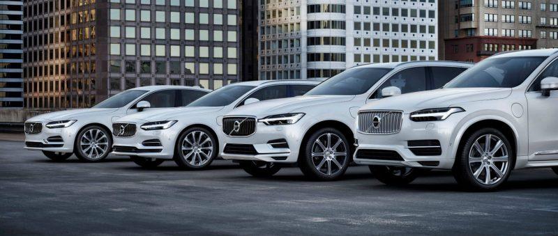Плагин-гибридные версии Volvo T8 Twin Engine