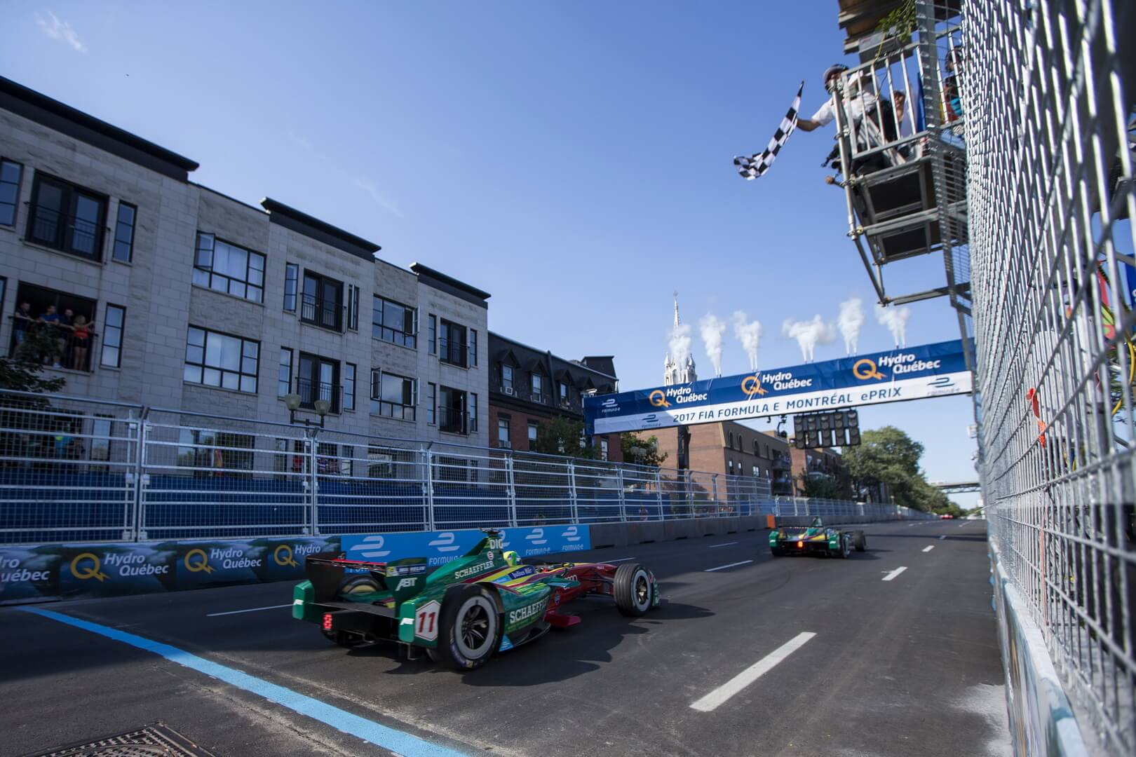 Formula E 2016/2017 в Монреале