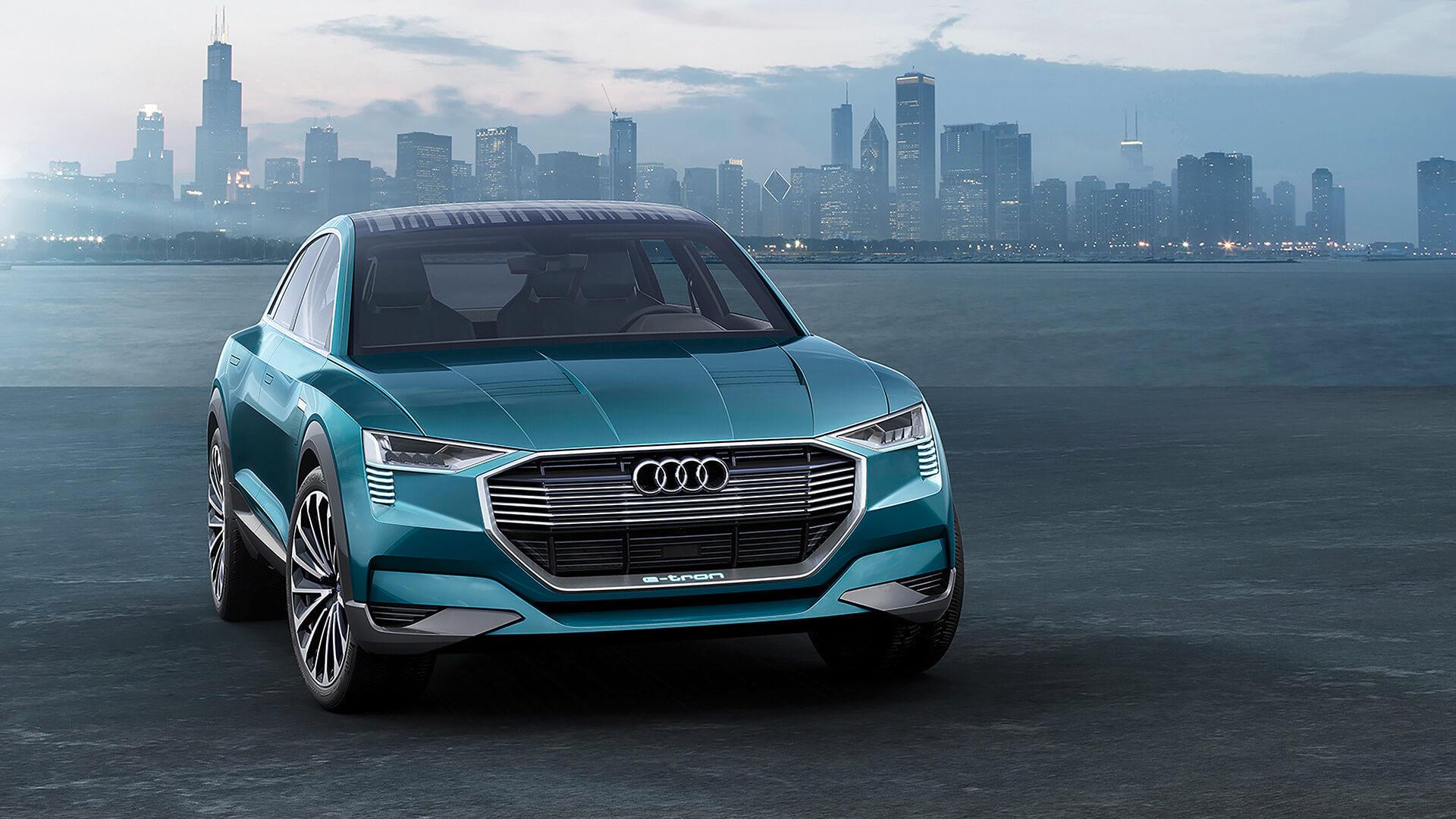 Концепция автомобиля Audi e-tron quattro