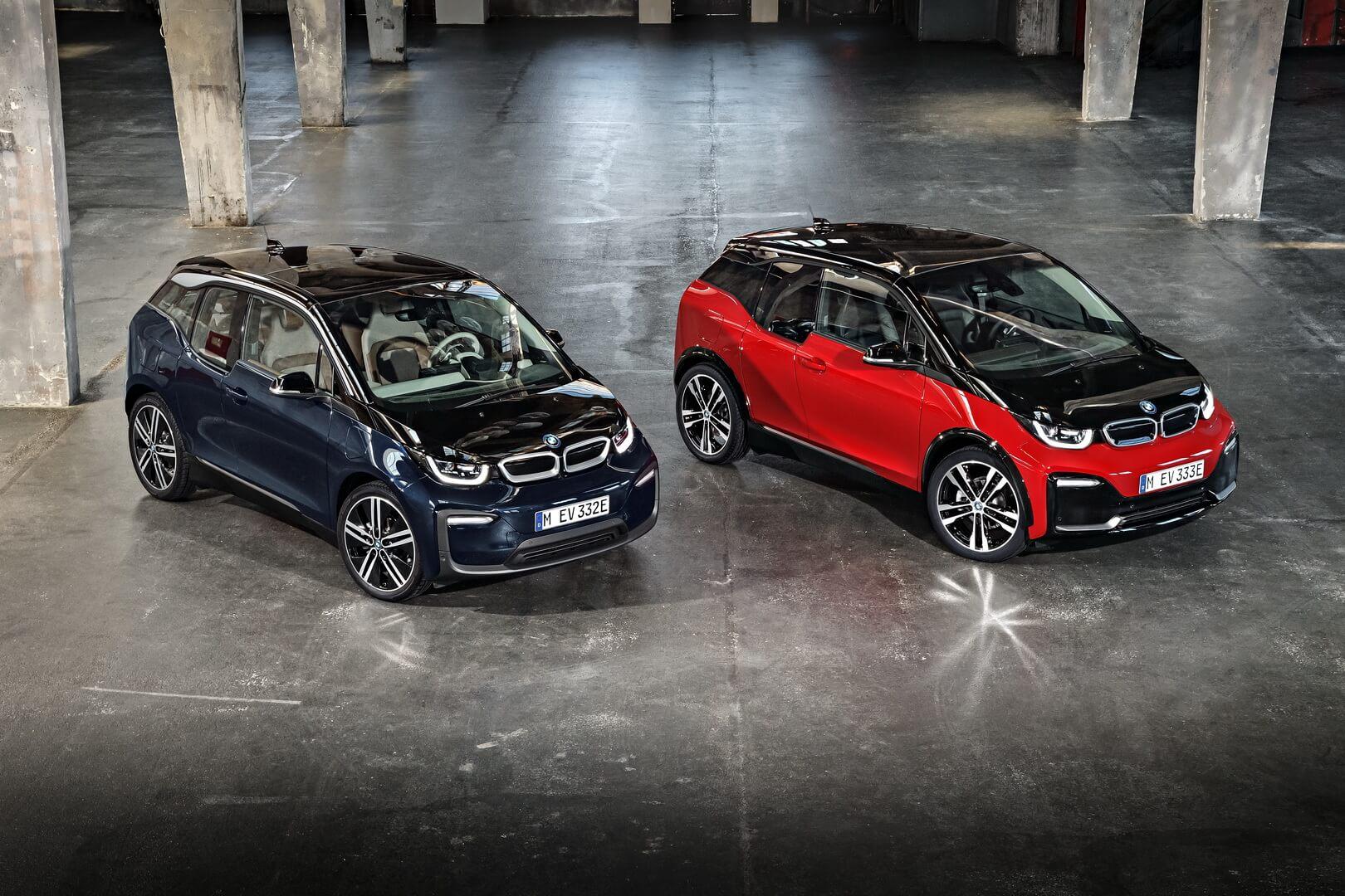 Текущие версии BMW i3иi3s 2018 модельного года
