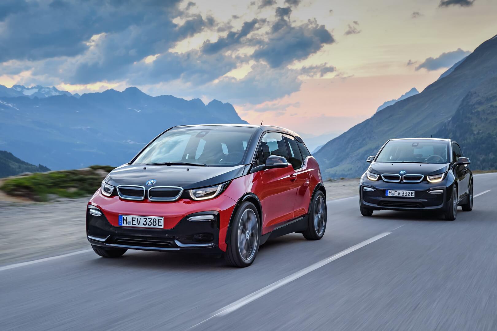 Электрические автомобили BMW i3