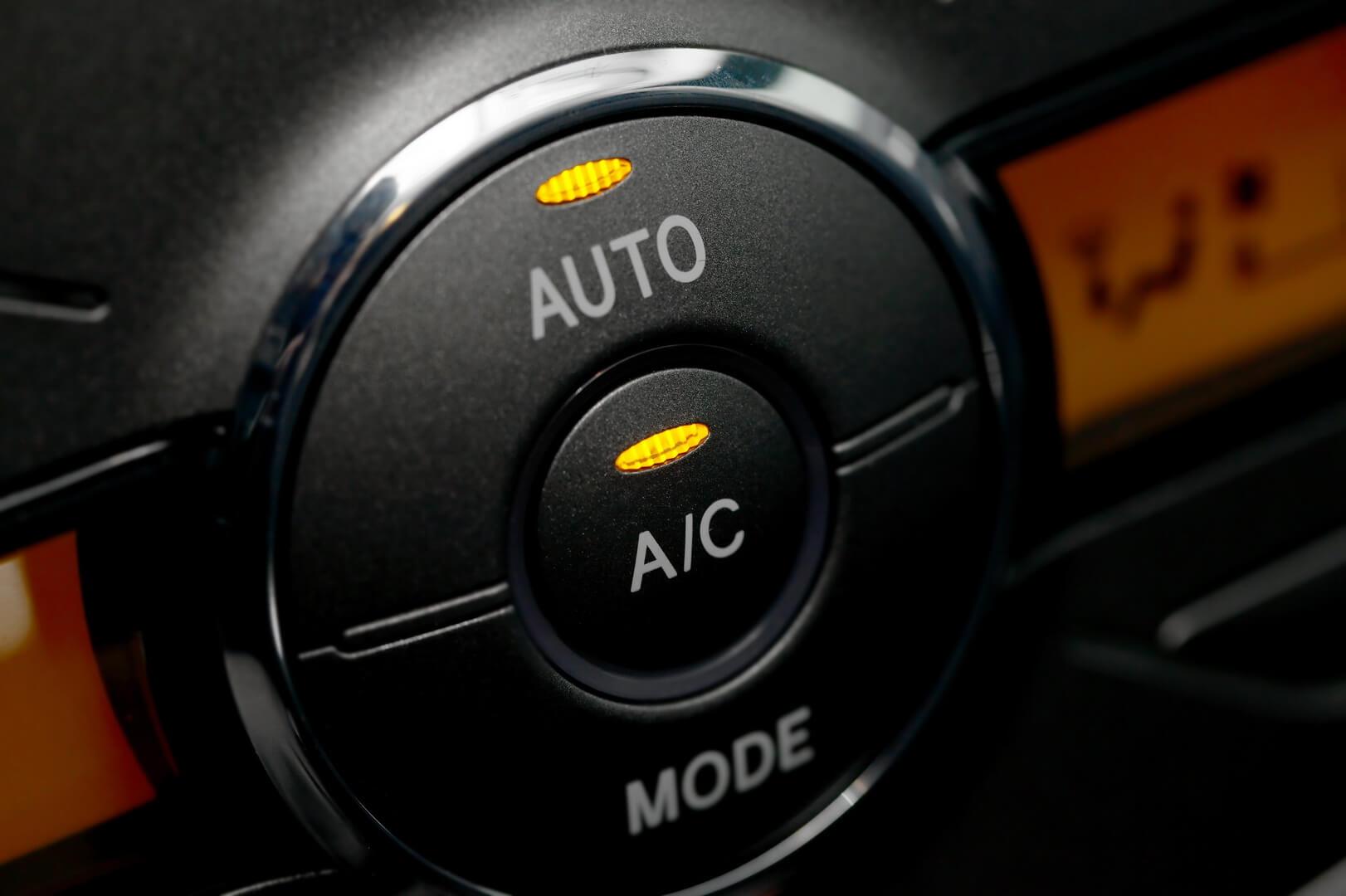 Кнопки включения кондиционера