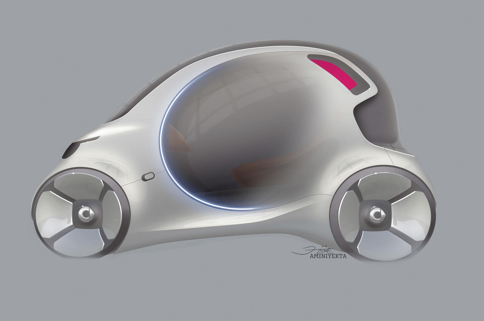 Дизайн концепта Smart Vision EQ fortwo